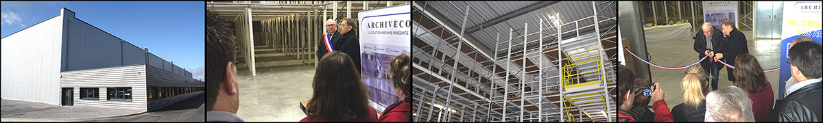 archivage archiveco inauguration d'un site de conservation